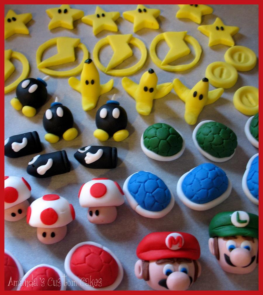 Mario Kart Cupcakes Cakecentral Com