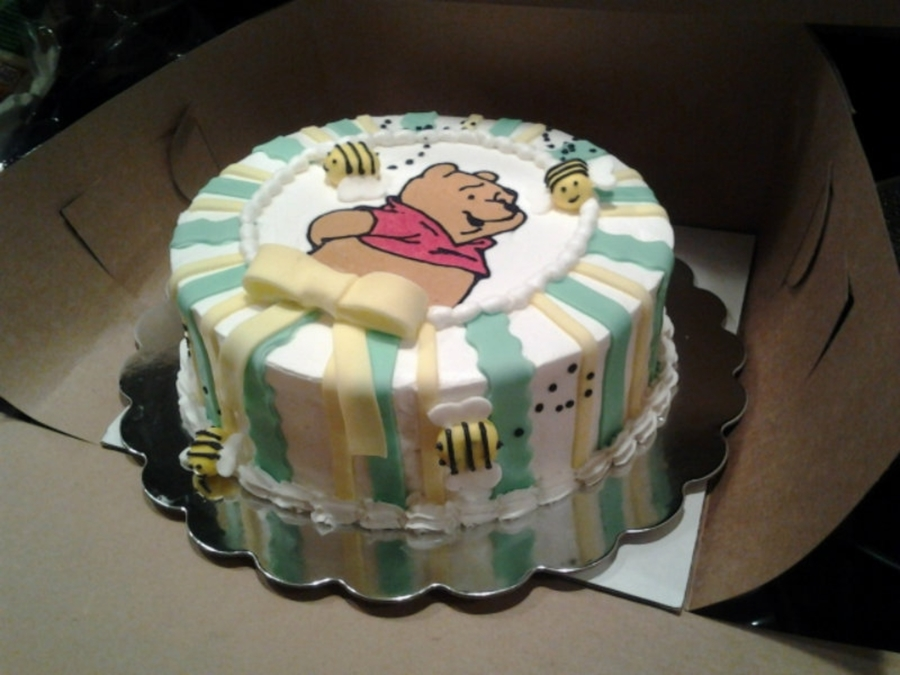 Pooh Baby Shower on Cake Central