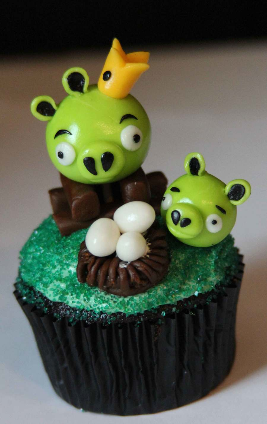 Angry Birds Cupcake! on Cake Central