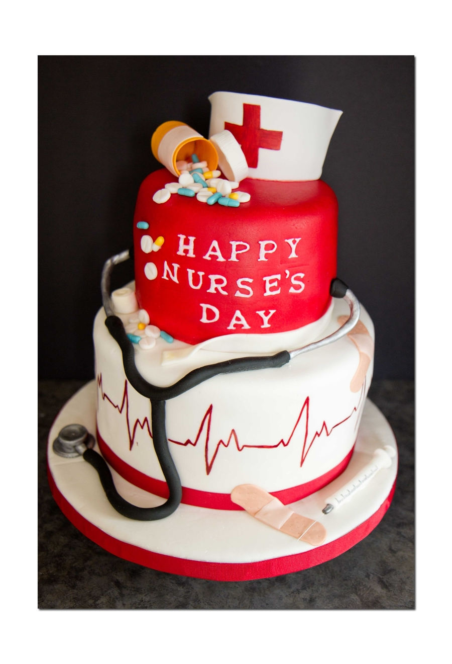 Cake For Nurses Birthday