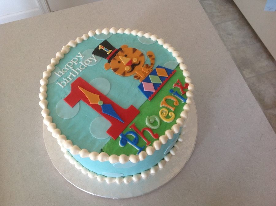 Circus First Birthday on Cake Central