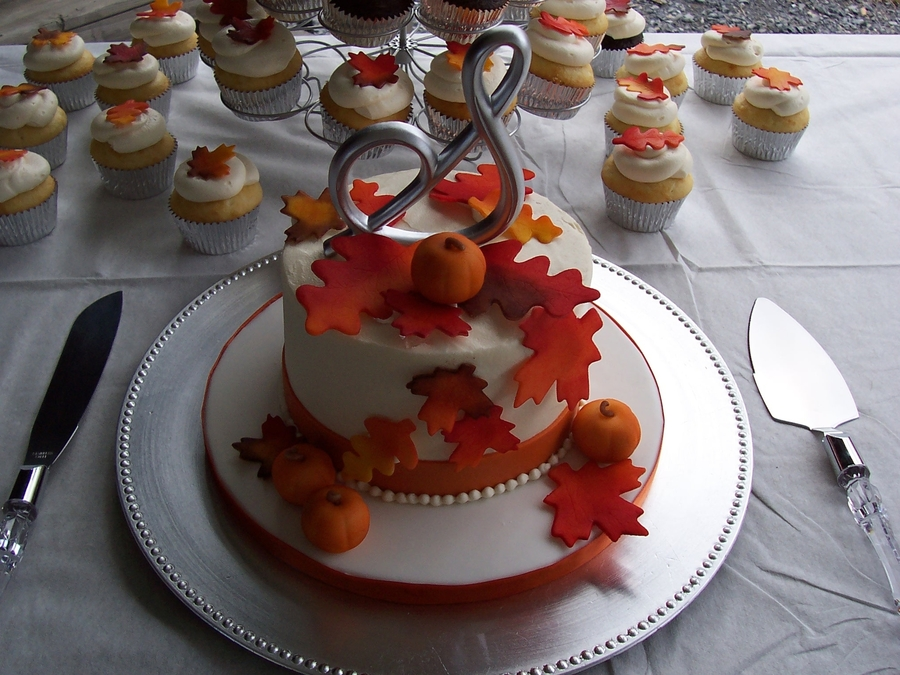 Fall Wedding on Cake Central