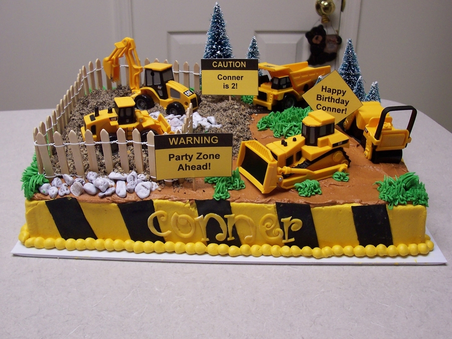 Construction Birthday on Cake Central