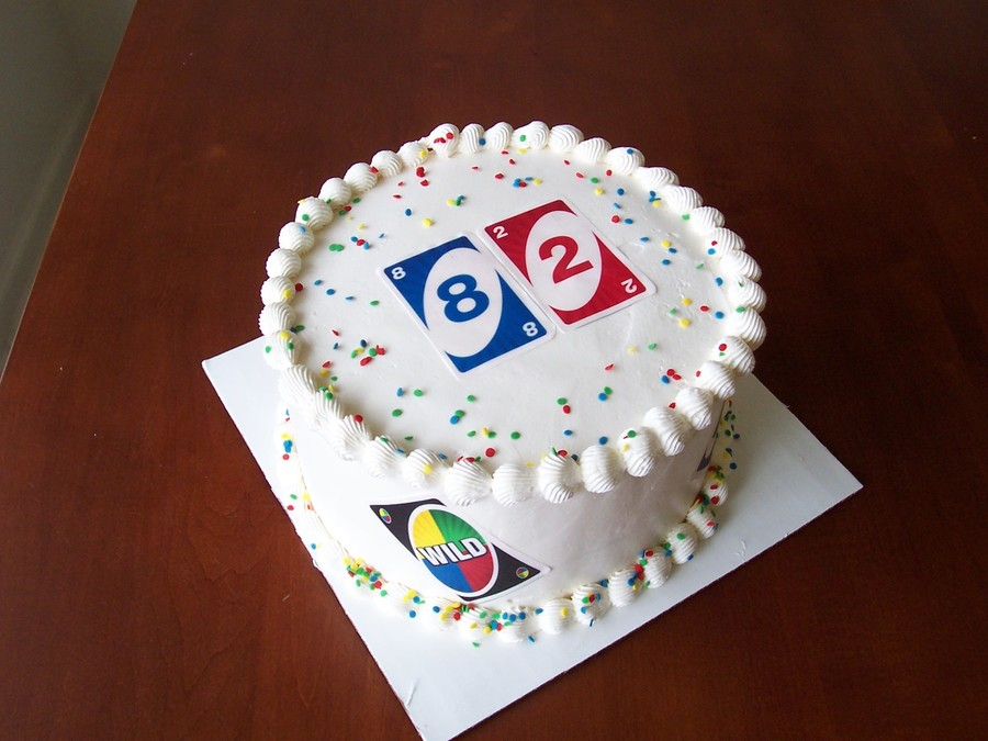 Uno Birthday on Cake Central