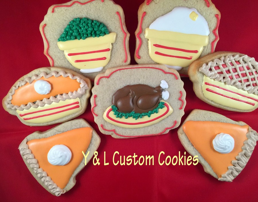 Thanksgiving Cookie Set on Cake Central