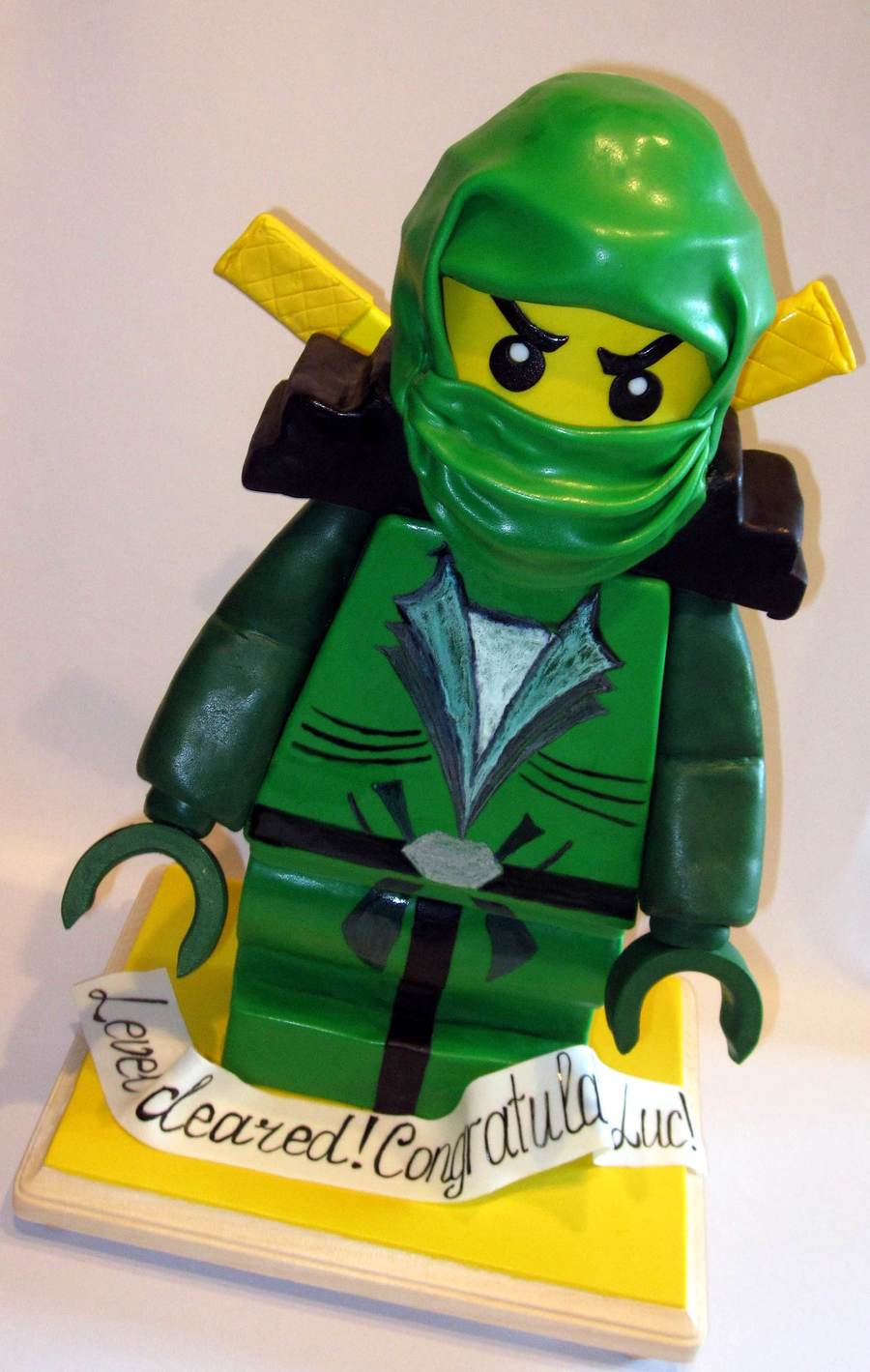 Lloyd Garmadon Green Ninjago  on Cake Central