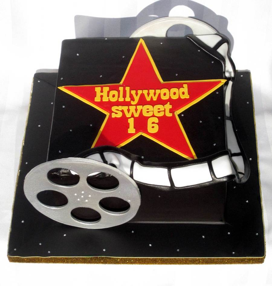 Hollywoods Sweet 16 How Appropriate on Cake Central