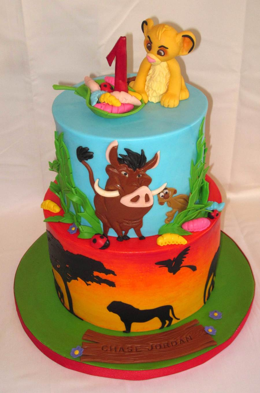 Lion King on Cake Central