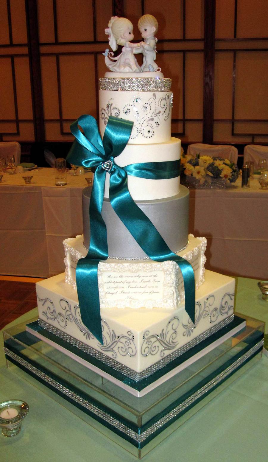 Thaos Wedding Cake on Cake Central