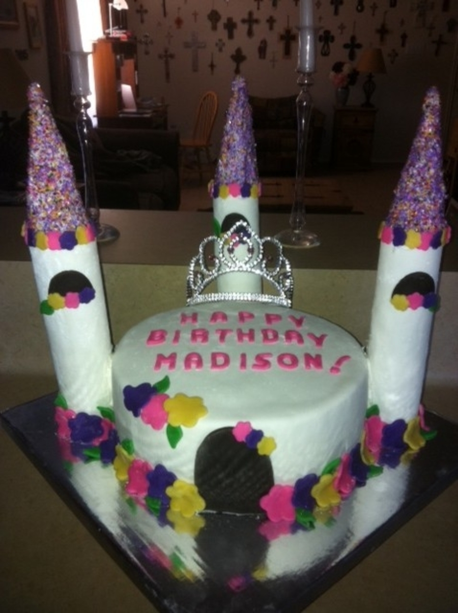 Madison's Birthday Cake on Cake Central