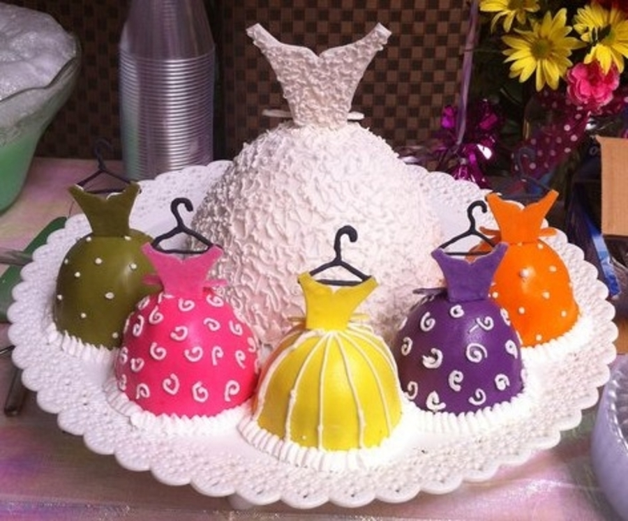 My Bridal Shower Cake on Cake Central