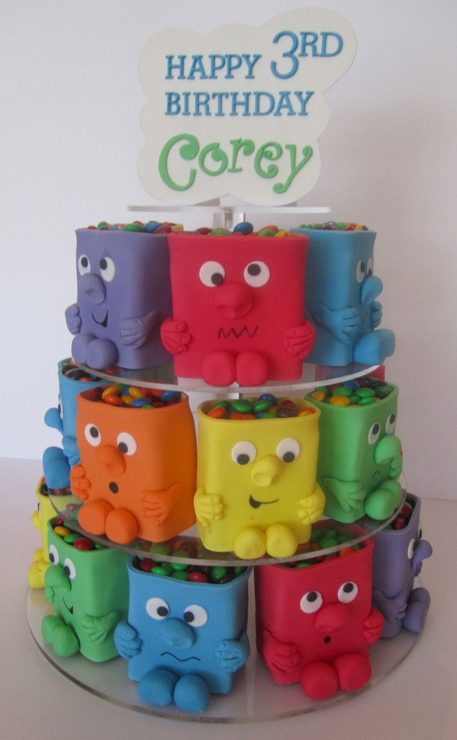 Mini Monster Cakes - CakeCentral.com
