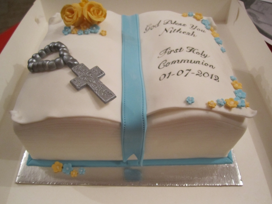 First Holy Communion Cake on Cake Central