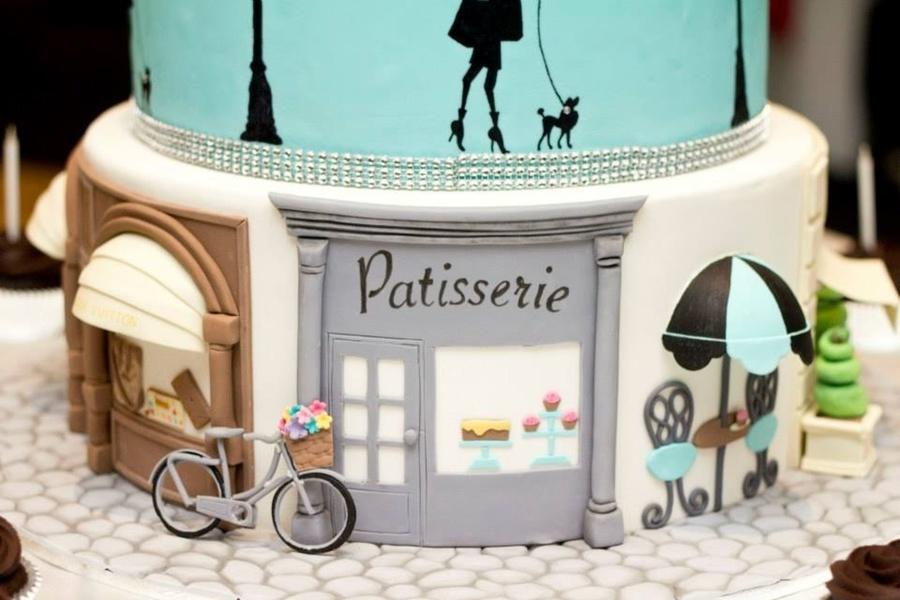 Paris Birthday Cake CakeCentralcom - Birthday cake paris