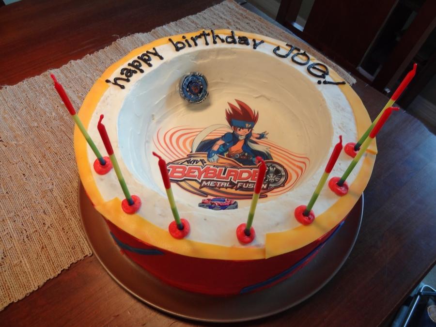 Beyblade Arena Cake Cakecentral Com