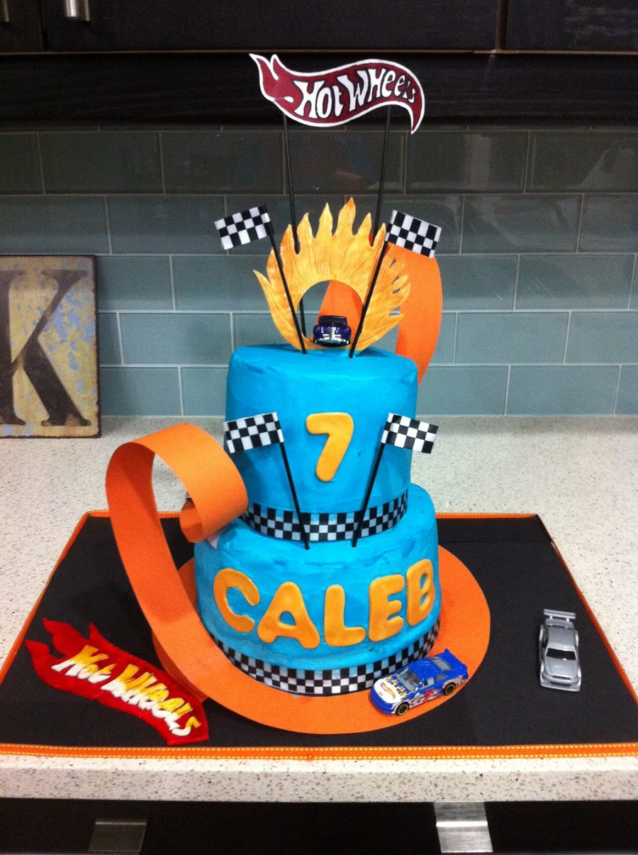 Calebs 7th Birthday Cake Cakecentral