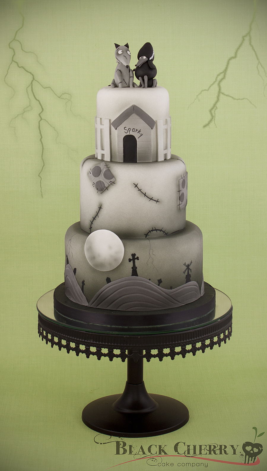 Frankenweenie Cake on Cake Central