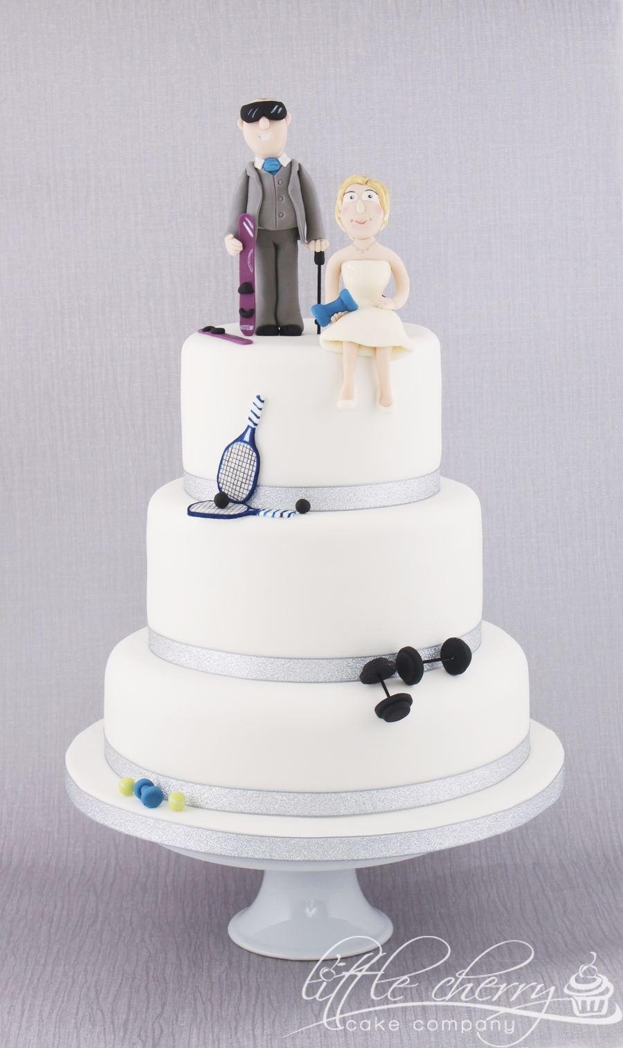 Sports Wedding Cake on Cake Central