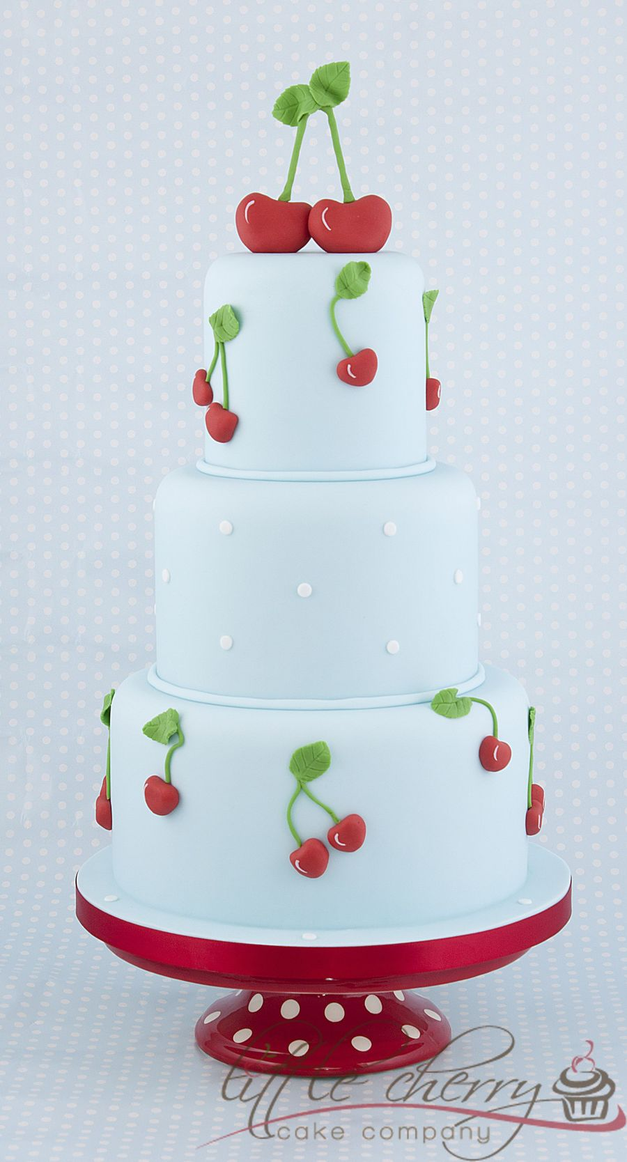 Cherry Wedding Cake on Cake Central