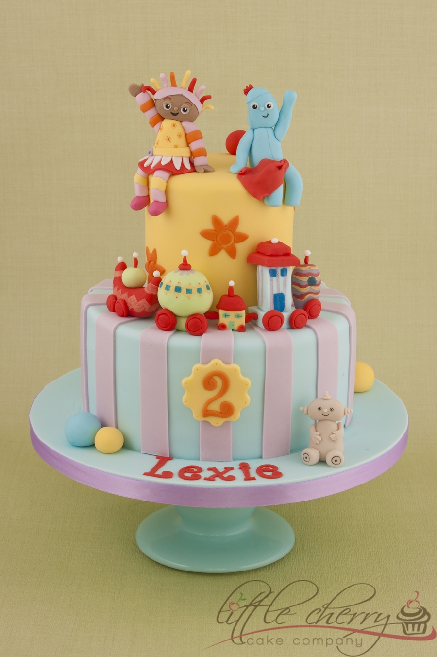 In The Night Garden Cake - CakeCentral.com