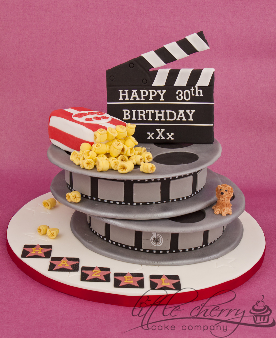 Movie Reel Birthday Cake on Cake Central