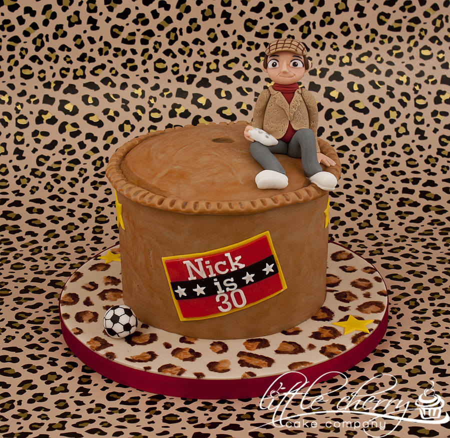 Only Fools And Horses Pork Pie Cake on Cake Central