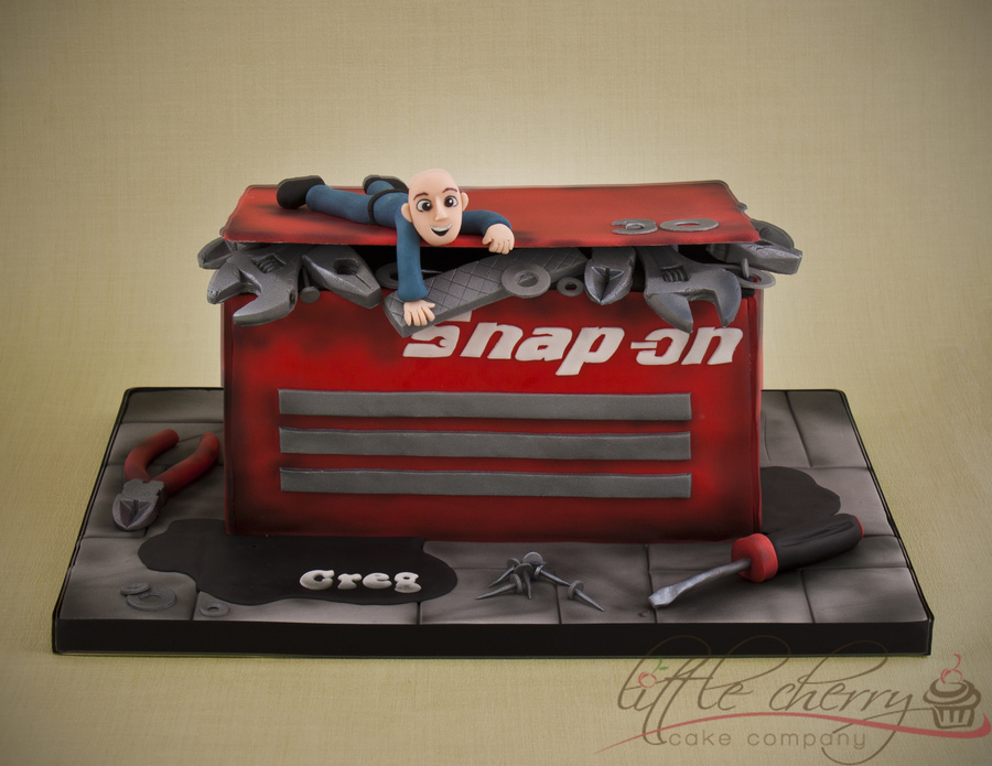 SnapOn Tool Box Cake CakeCentral Unique Cake Decorators Tool Box