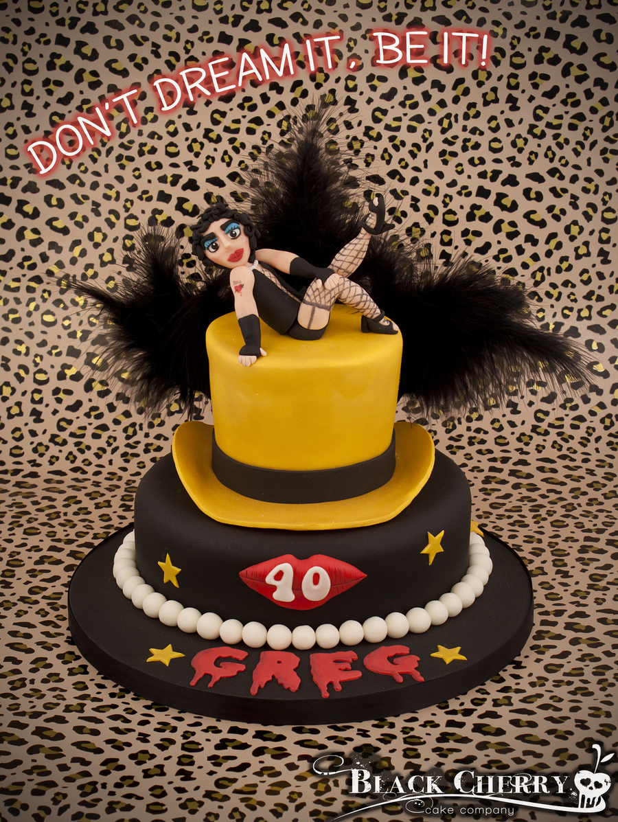 Rocky Horror Picture Show Cake on Cake Central
