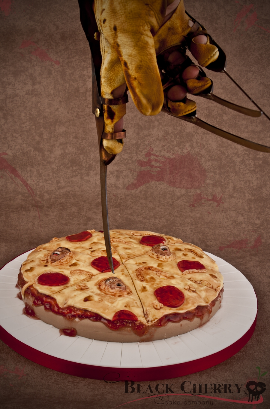 Soul Pizza Nightmare On Elm Street 4 Cake  on Cake Central