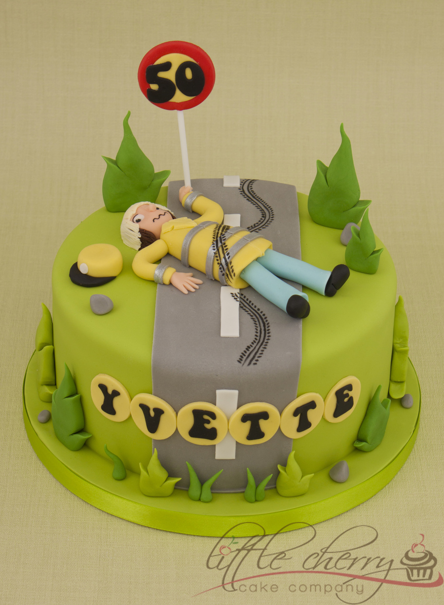 Lollipop Lady Cake on Cake Central