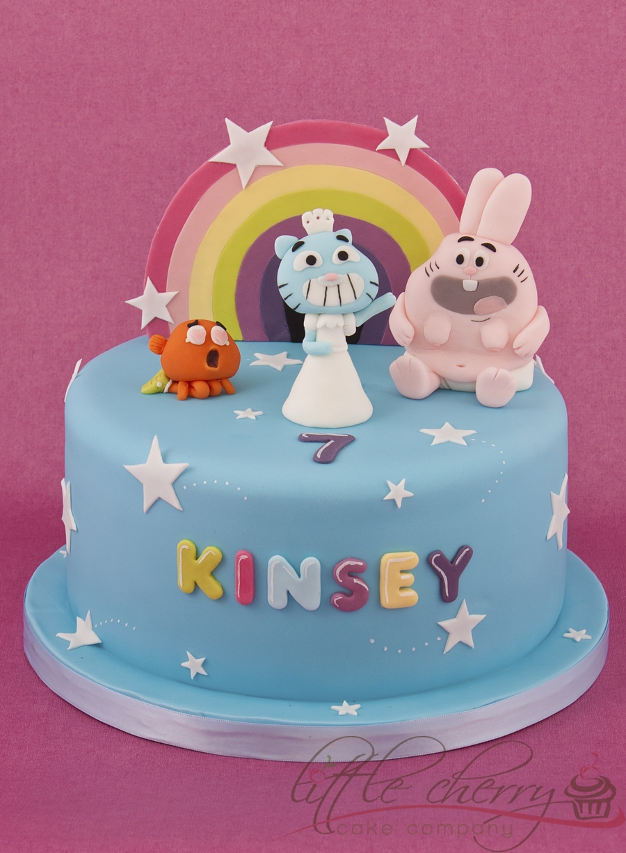 The Amazing World Of Gumball Cake on Cake Central