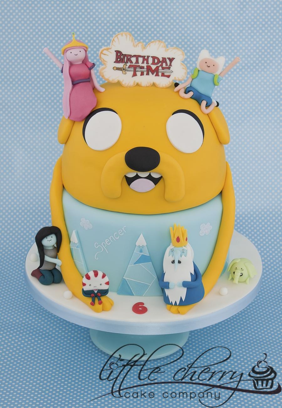 Adventure Time Cake - CakeCentral.com