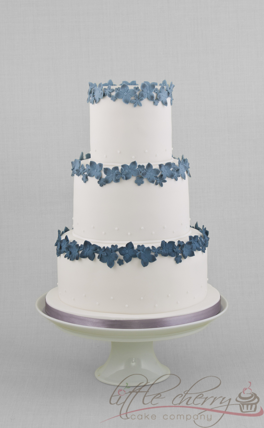 Blue Ombre Cake on Cake Central