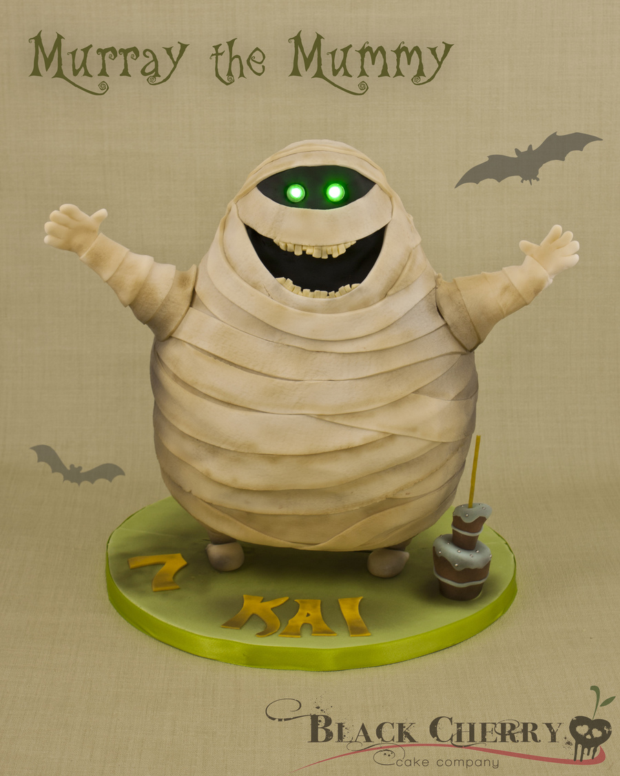 Murray The Mummy From Hotel Transylvania on Cake Central