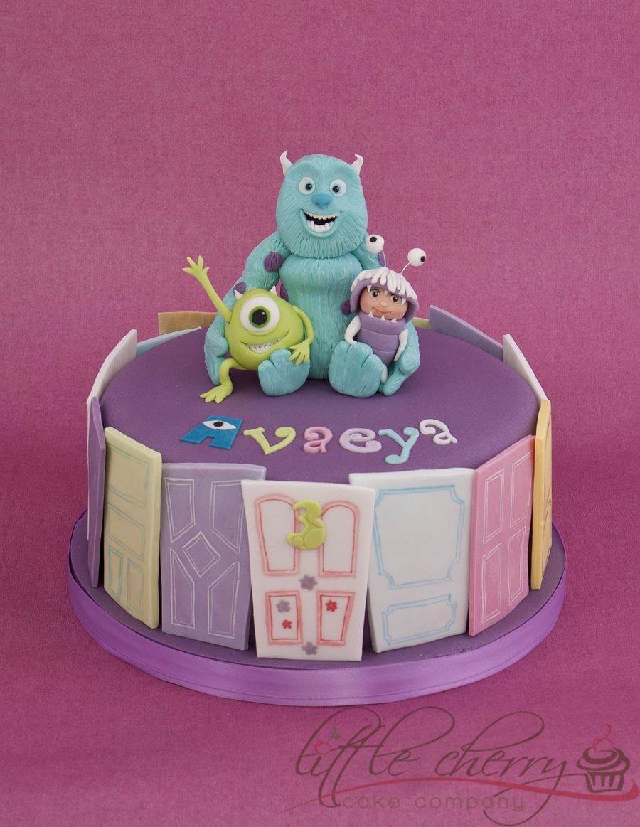 Monsters Inc Cake on Cake Central