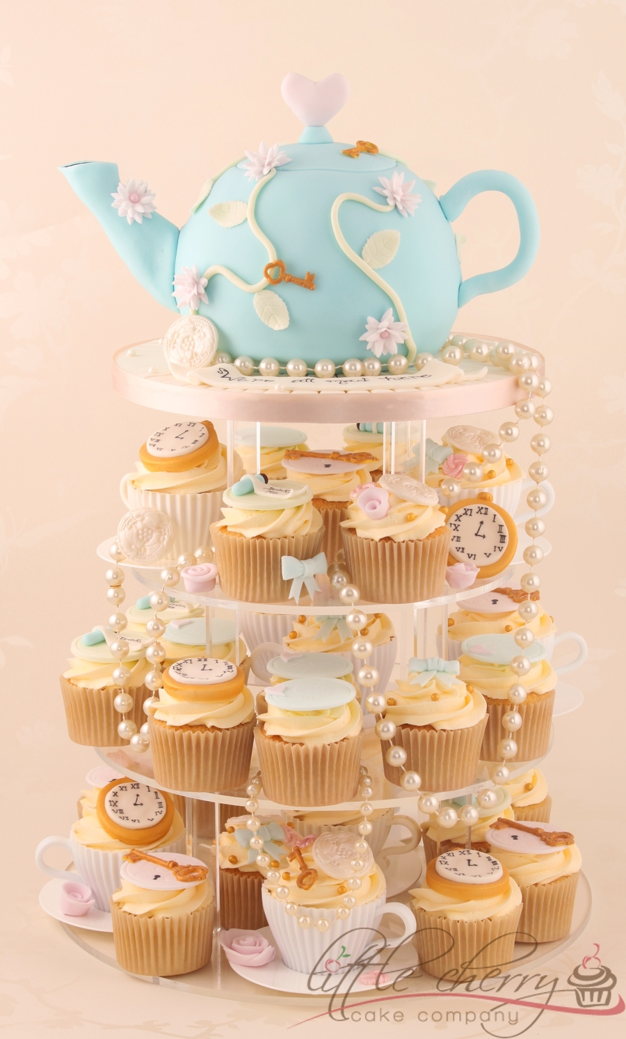 Vintage Alice In Wonderland Tea Party on Cake Central