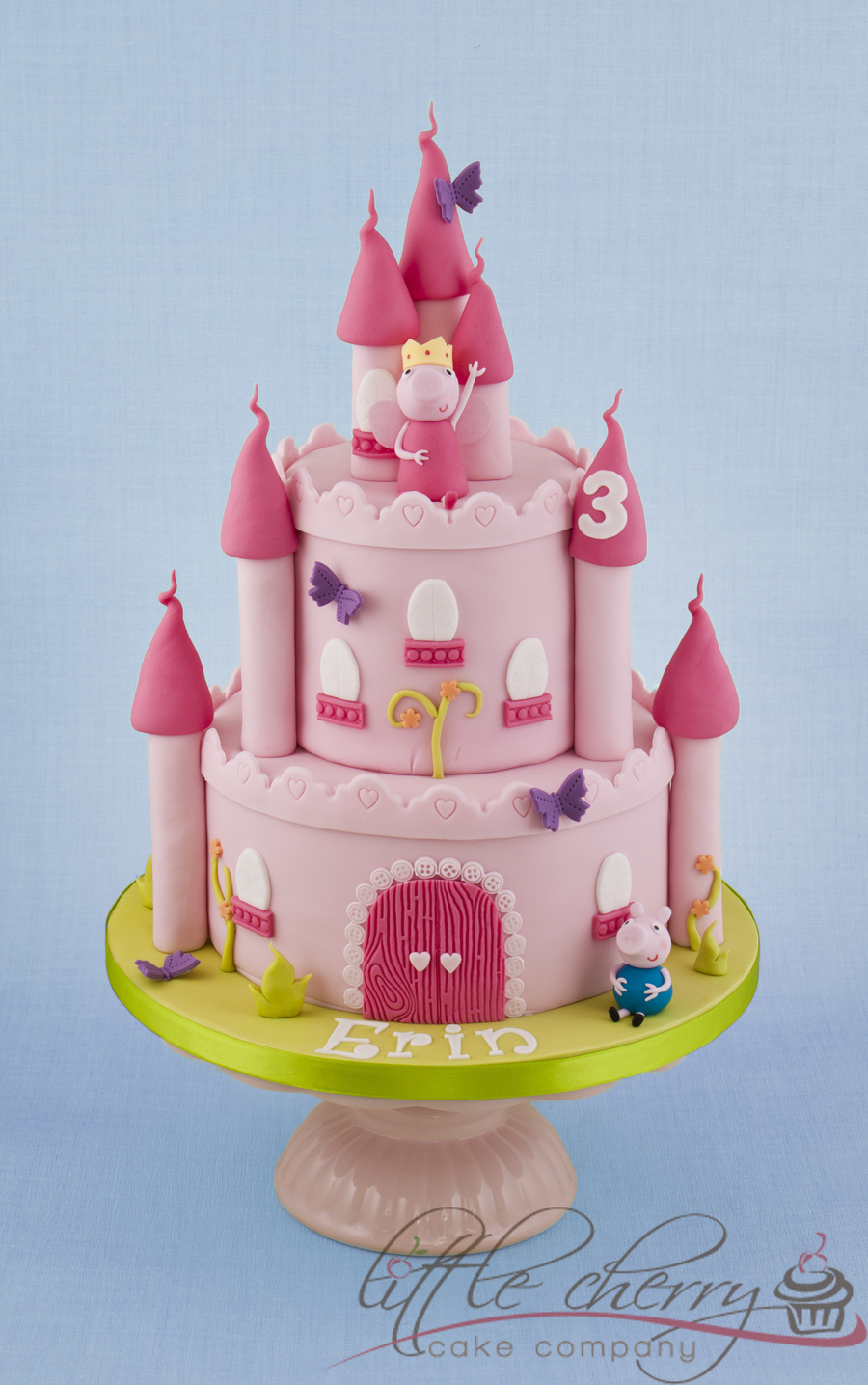 Peppa Pig Castle Cake on Cake Central