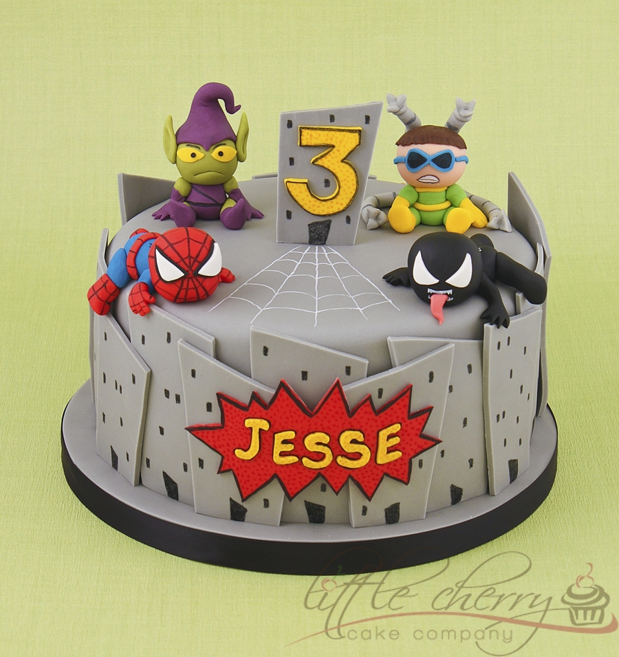 Baby Marvel Cake on Cake Central