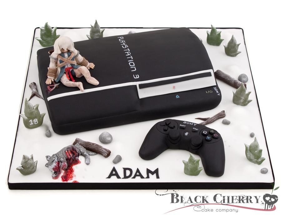 Cake Design Assassin S Creed : Ps3 Assassins Creed Cake - CakeCentral.com