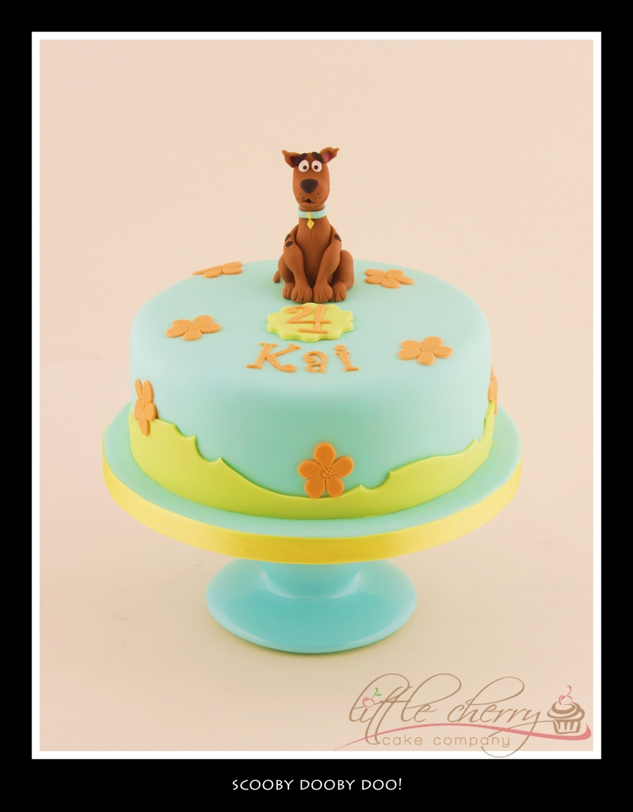 Scooby Doo Cake  on Cake Central