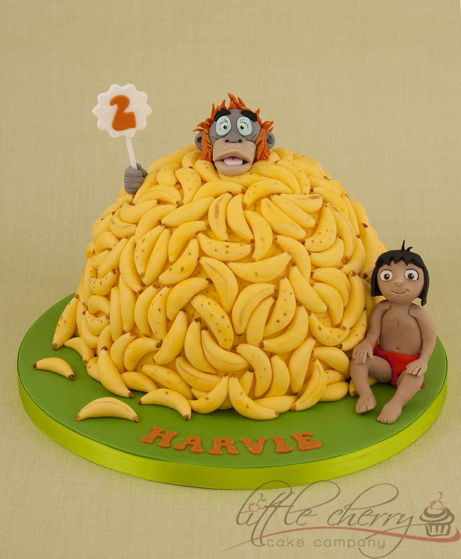 Jungle Book King Louie Cake on Cake Central