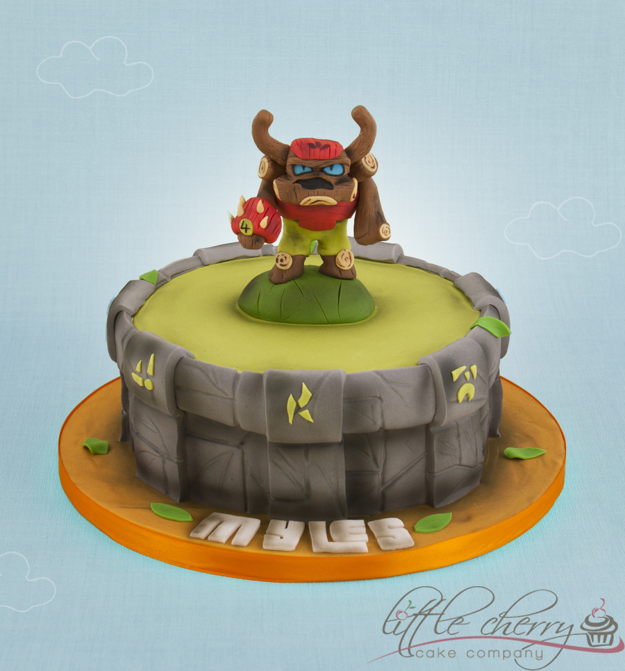 Skylanders Tree Rex on Cake Central