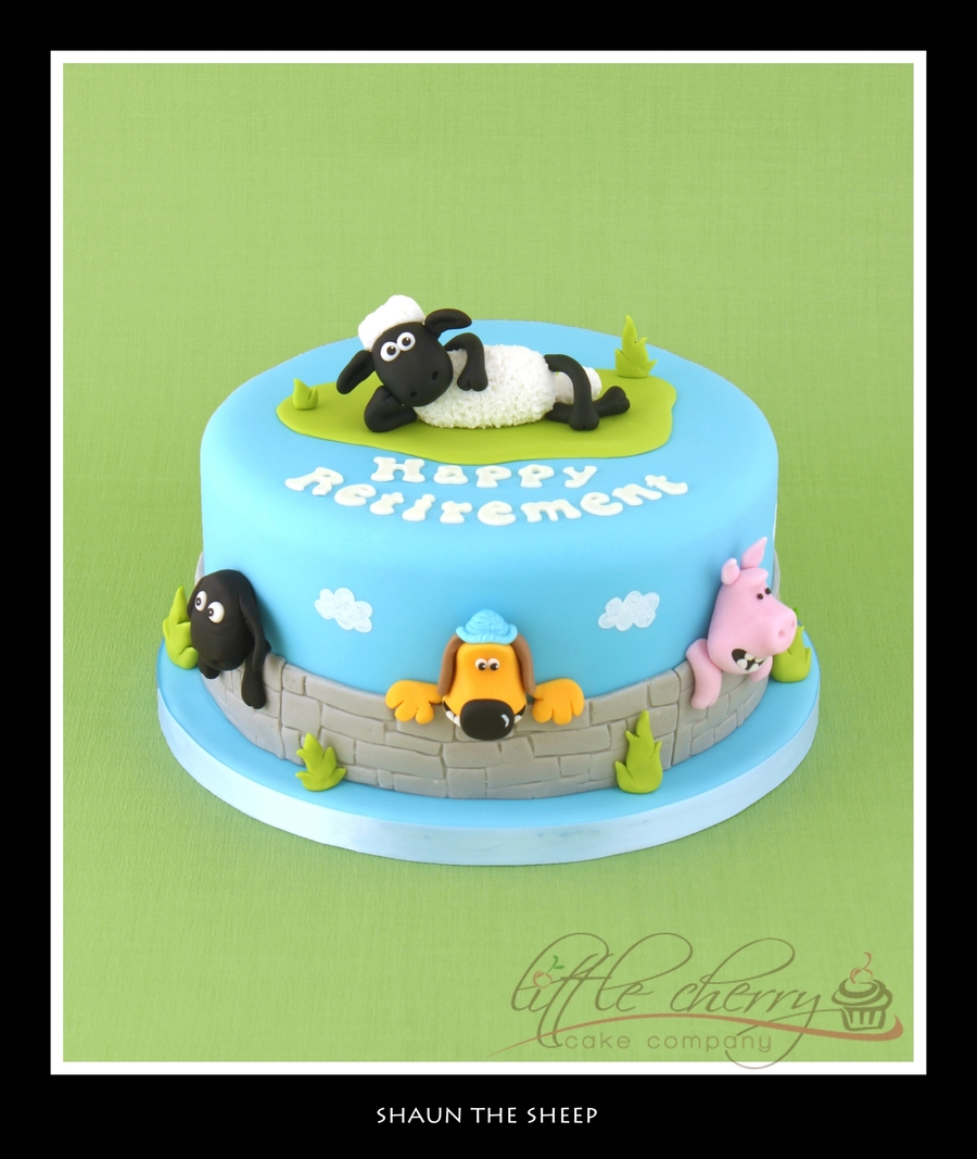 Shaun The Sheep Cake on Cake Central