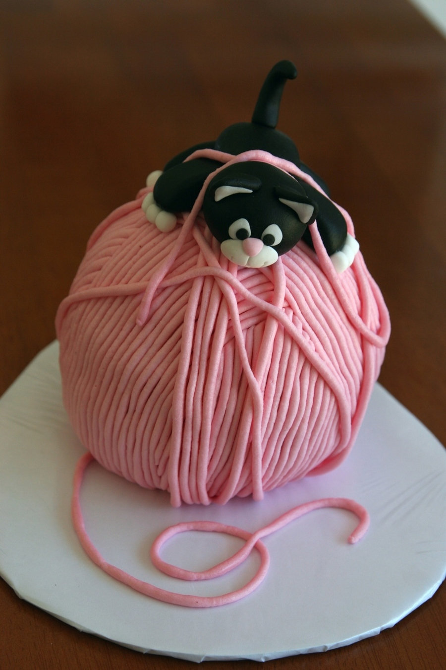 Kitty And Yarn Cakecentral