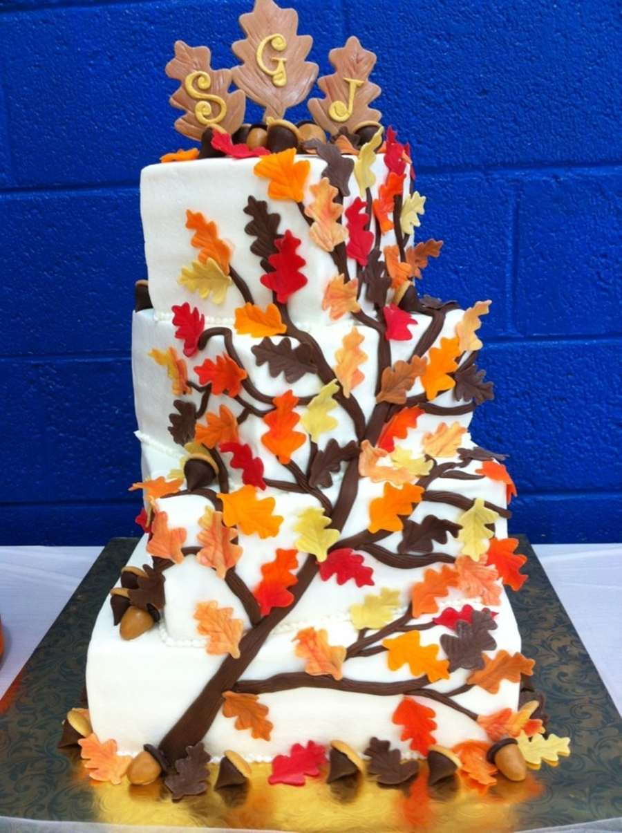 Fall Foliage on Cake Central
