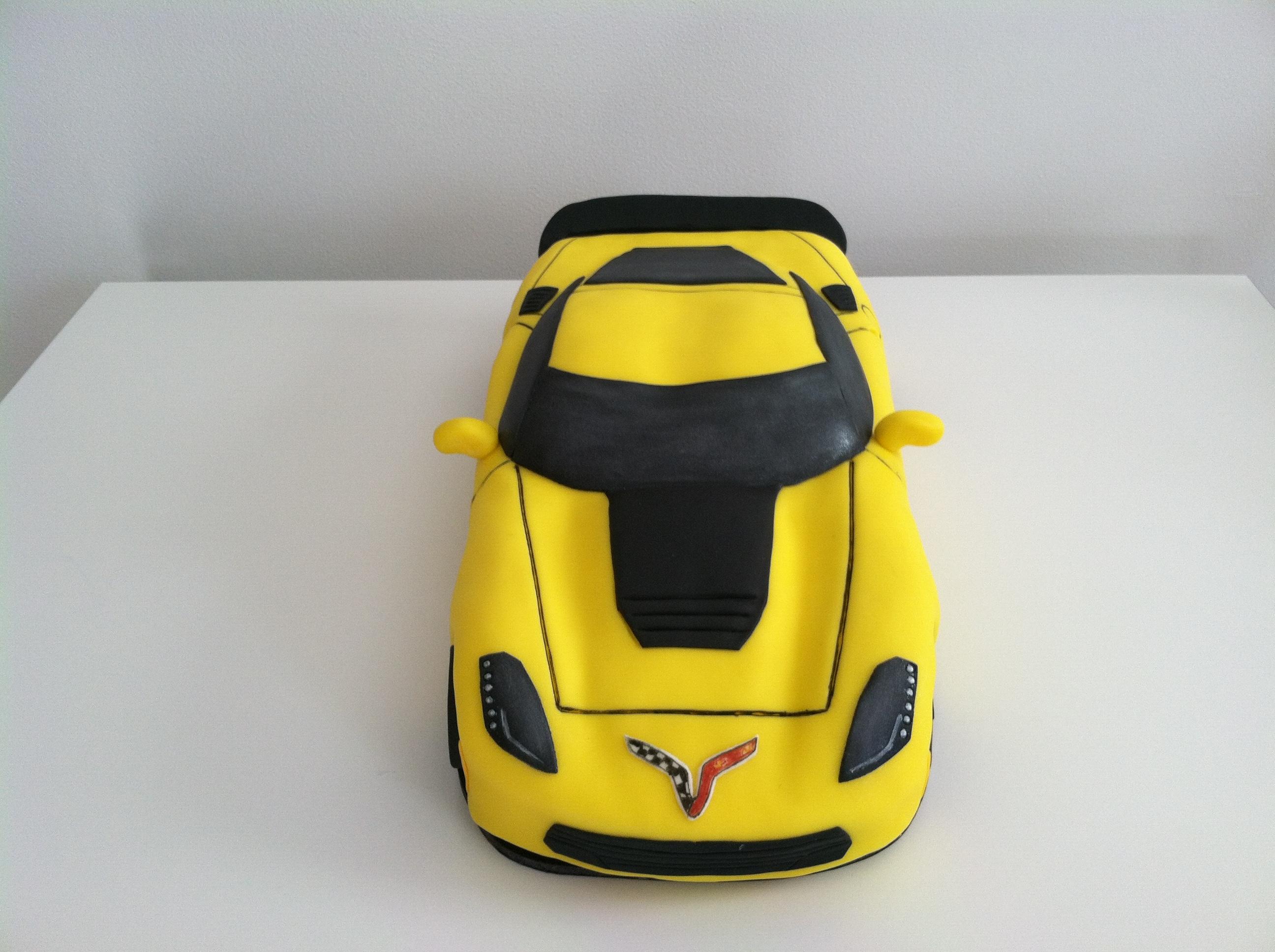 Reeds Corvette Cake CakeCentralcom