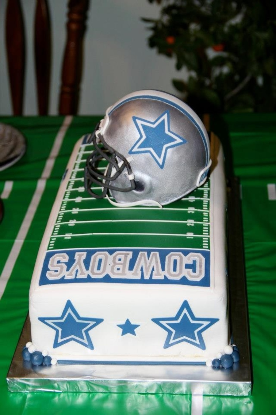 Dallas Cowboys 16th Birthday Cake Cakecentral Com