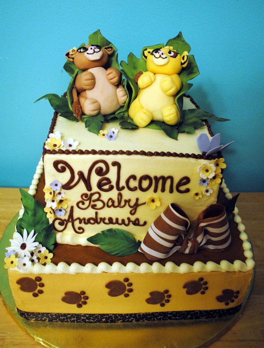 Simba And Nala Baby Sh...