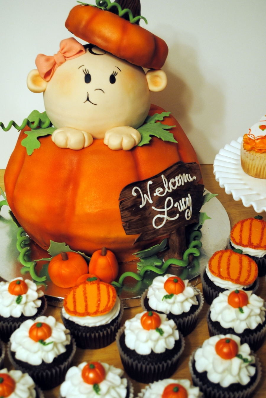 Pumpkin Baby Shower on Cake Central