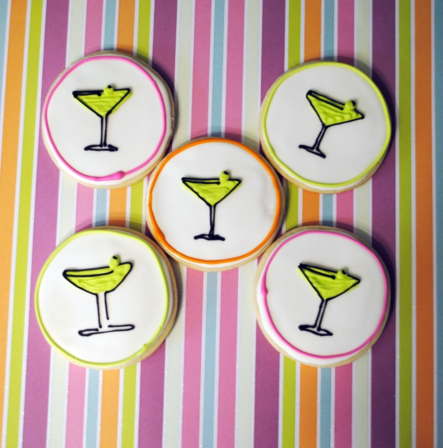 Martini Cookies on Cake Central